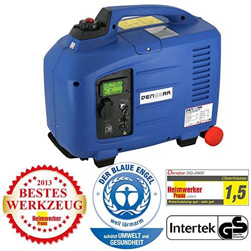 2,8 kW Digitaler Inverter Generator benzinbetrieben DQ2800E mit E-Start