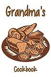 Grandma's Cookbook: Blank Cookbook