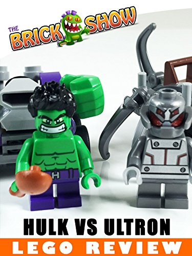LEGO Marvel Super Heroes Mighty Micros: Hulk vs Ultron Review (76066)
