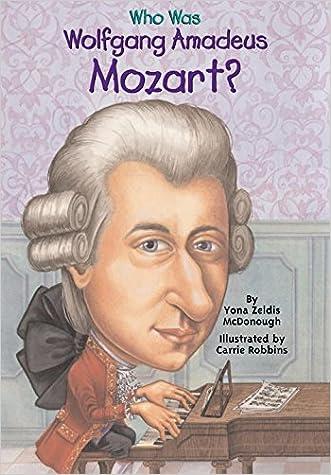 Who Was Wolfgang Amadeus Mozart? written by Yona Zeldis McDonough