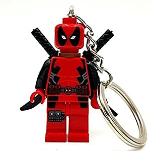 Building Toys Deadpool Keychain Minifigure