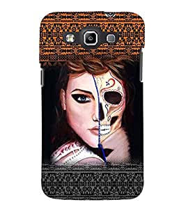 PRINTSWAG GIRL WITH SKELETON Designer Back Cover Case for SAMSUNG GALAXY WIN i8552