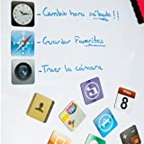 Regatron - Imanes iconos iphone / ipad / apple (dos modelos) imanes iphone modelo b