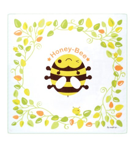 """Baby Soft Muslin Cloths Bath Towel, Muslin Blanket, For Infant And Toddler (Square (31.5"""" X 31.5""""), Bee)"""