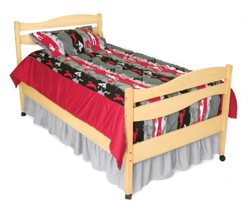Room Magic RM02-AS Twin Comforter/Bedskirt/Sham Set, Action Sports