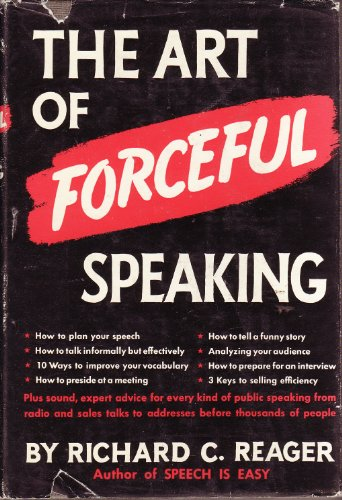 The art of forceful speaking PDF