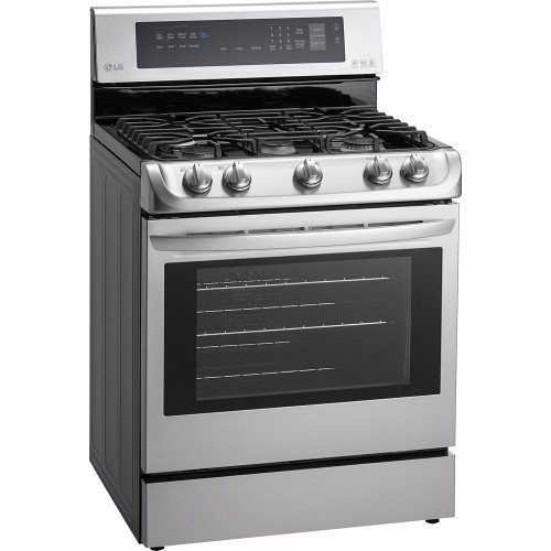 LG-LRG4113ST-30-Freestanding-Gas-Range-with-5-Burners-63-cu-ft-Capacity