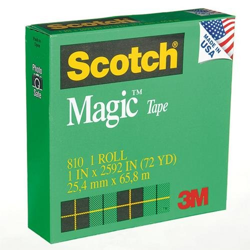 S&S Worldwide Scotch® Magic Tape 810, 1