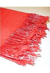 Kuldip Unisex Pashmina Scarf Shawl Wrap Throw Red