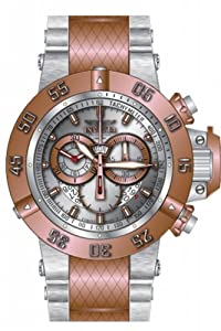 Invicta Men's 80506 Subaqua Quartz 3 Hand Silver Dial Watch