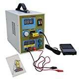 ECO-WORTHY 788H LED Dual Pulse Spot Welder 18650 Battery Charger 800 A 0.1 – 0.2 mm 36 V