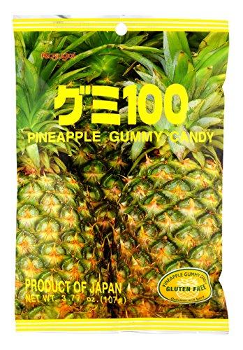 Kasugai Pineapple Gummy Candy 3.77oz