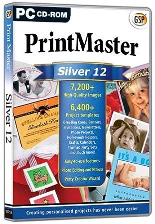 Print Master Silver 12 (PC)