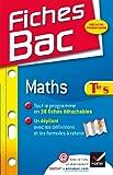 echange, troc Jean-Dominique Picchiottino - Fiches Bac Maths Tle S: Fiches de cours - Terminale S