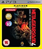 Metal Gear Solid 4 - Guns Of The Patriots Platinum (PS3)