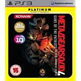 Metal Gear Solid 4 - Guns Of The Patriots Platinum (PS3)by Konami