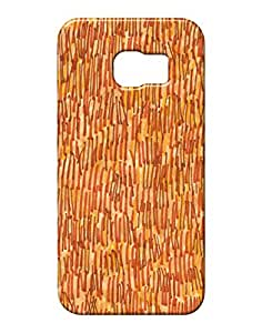 Pickpattern Hard Back Cover for Samsung E-6 Edge
