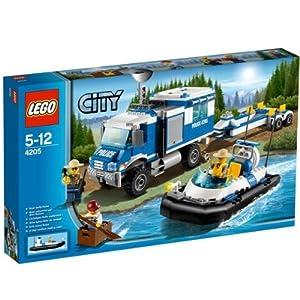 Lego city 4205 polizei kommandozentrale spielzeug - Lego camion de police ...