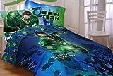 Warner Bros Green Lantern Green Ring Twin Sheet Set