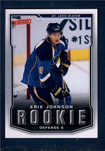 2007 Upper Deck Victory #310 Erik Johnson RC ID: 148727
