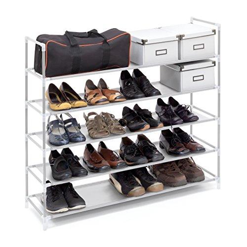 Relaxdays-Schuhregal-mit-Griffen-H-x-B-x-T-ca-905-x-87-x-295-cm-Schuhablage-aus-Vlies-Gewebe-mit-5-Ablagen-fr-25-Paar-Schuhe-als-Schuhstnder-und-Schuhschrank-beliebig-erweiterbar-Regal-wei