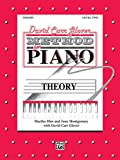 img - for David Carr Glover Method for Piano / Theory / Level 2 book / textbook / text book