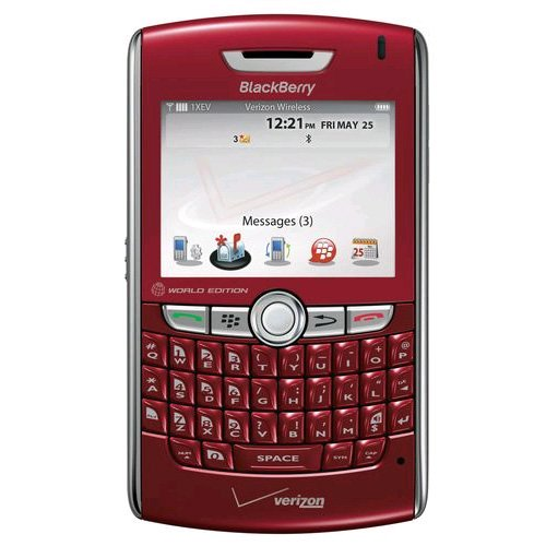 Verizon PRD-13662-026 BlackBerry 8830 Replica Dummy Phone/Toy Phone, Red