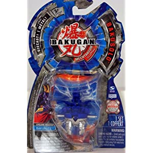 Bakugan Mechtanium Surge- BakuSolo - with real Die-Cast - Bakublitz - Cyclone Percival - Blue/Silver
