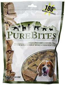 PureBites Beef Liver Dog Treats, 8.8 oz.