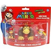 任天堂スーパーマリオミニフィギュアパックドンキーコング  Nintendo Super Mario Mini Figure Pack Donkey Kong
