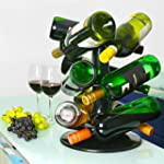 Rotatable 9 Bottle Wine Rack from bar...