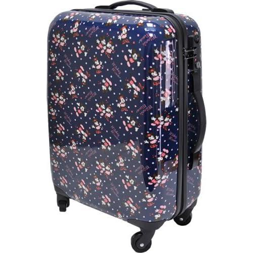 [ディズニー] Disney ミッキー&ミニー スーツケース 33L d6112 ネイビー(60)