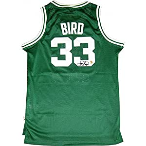 Larry Bird Autographed Boston Celtics Jersey by Hollywood Collectibles