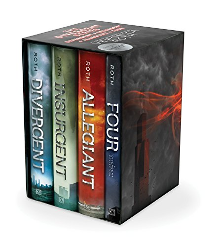 Divergent Series Ultimate Four-Book Box Set: Divergent, Insurgent, Allegiant, Four - Veronica Roth