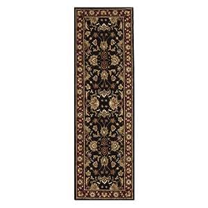 amazon   constantine area rug 2 3 x7 6 runner black