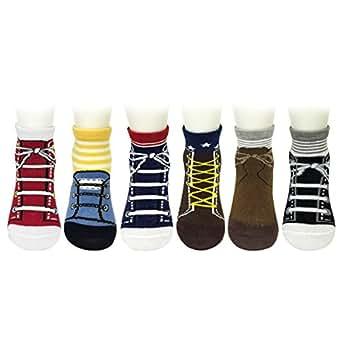 amazoncom bowbear baby 6 pair looks like shoes socks