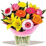 Eden4flowers Flowers Delivered - Contrast Bouquet