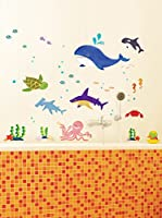 Ambiance Sticker Vinilo Decorativo Marine Animals