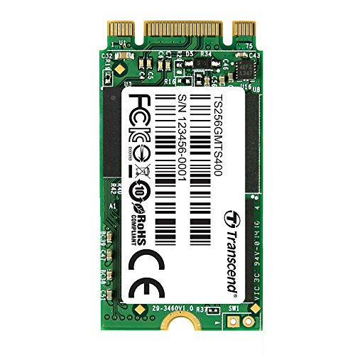Transcend 256 Gb Sata Iii 6Gb/S Mts400 42 Mm M.2 Ssd Solid State Drive Ts256Gmts400
