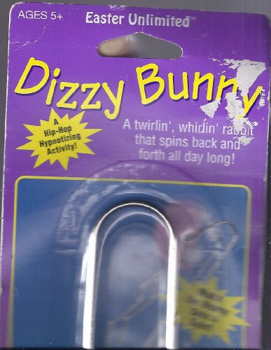 Dizzy Bunny A Twirlin', Whirlin' Rabbit That Spins Back & Forth All Day Long! - 1