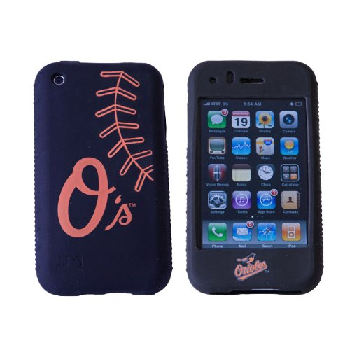 MLB Baltimore Orioles Cashmere Silicone Iphone Case