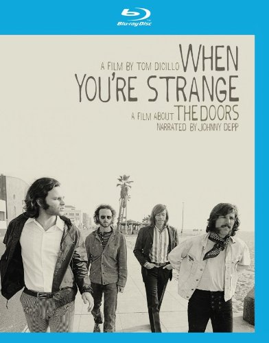 Cover art for  When You're Strange: A Film about The Doors [Blu-ray]