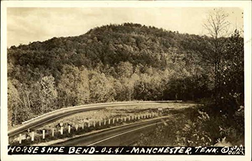 Horseshoe Bend Manchester, Tennessee Postcard