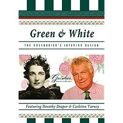 Green & White - The Greenbrier's Interior Design