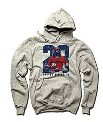 Jayson Werth MLBPA Washington Men's Hoodie Jayson Werth Clutch B