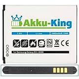 """Akku-King Akku f�r Samsung Galaxy S3 / GT-I9300 / GT-i9305 LTE - ersetzt EB-L1G6LLUCSTD - Li-Ion 2400mAh ( ohne NFC )von """"Akku-King"""""""