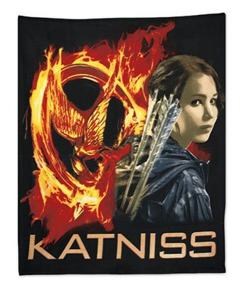 The Hunger Games Katniss Fleece Throw Blanket Officially Licensed Brand New