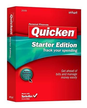 Quicken Starter Edition 2009 [OLD VERSION]