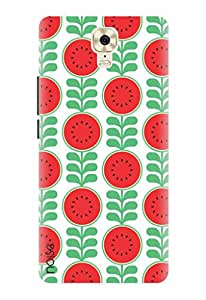 Noise Designer Printed Case / Cover for Gionee M6 Plus / Patterns & Ethnic / Healthy red Design