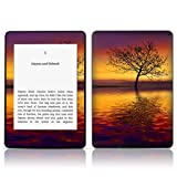 TaylorHe Vinyl Skin Decal for Amazon Kindle Paperwhite Ultra-slim protection for Kindle MADE IN BRITAIN FREE UK DELIVERY Design of Lakeside Tree, Sunset